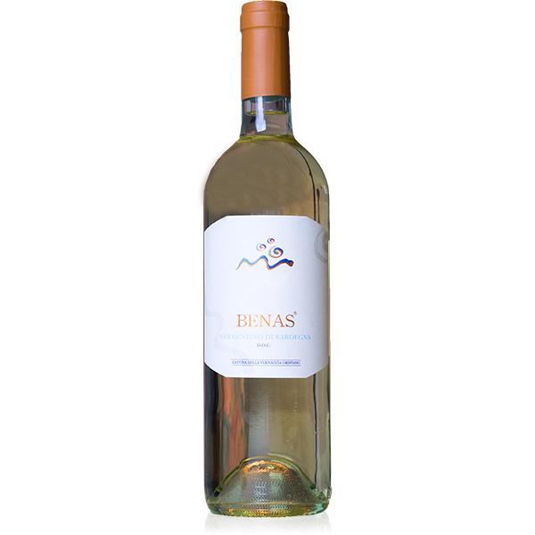 Benas Vermentino di Sardegna, frischer Weißwein aus Sardinien