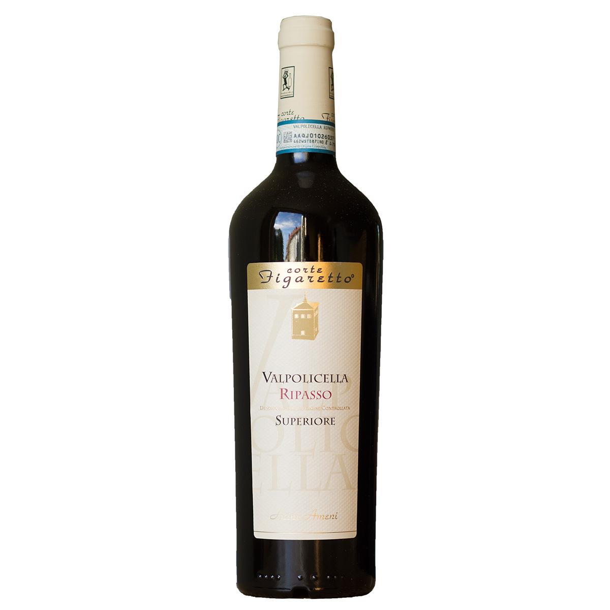 Italien Rotwein Valpolicella Ripasso Superiore Acini Ameni